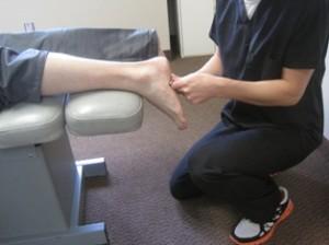 Graston Technique on tendon strains and ligament sprains.
