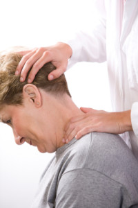 Neck stretching physical therapy