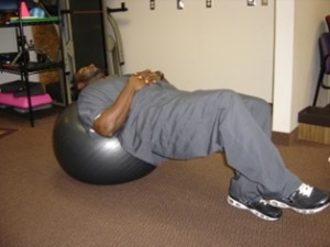 Core strength for low back pain